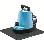 Little Giant 505600 5-APCP Automatic Pool Cover Pump 115V 60Hz - 1/6 HP, 1200 GPH - w/Stabilizing Plate & Automatic Switch, 25' Power Cord